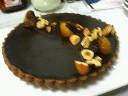 今月のチョコレートケーキ
