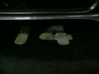 14番に駐車