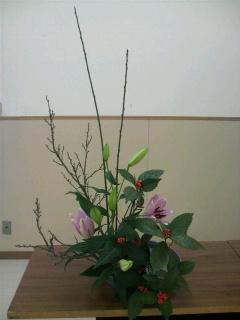 お正月花その2